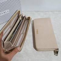 Hot Produk Dompet Furla Original / Furla Zip Wallet Acero