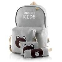 Tas Sekolah Ransel Punggung Backpack Anak Perempuan Cewek STK 771 IL