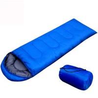 Kantong tidur berkerudung berkemah di luar ruangan kantong tidur