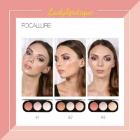 Focallure Trio Blusher & Highlighter palette Original
