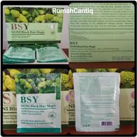 BSY Noni Black Hair Magic Shampo - BPOM dan Halal - ASLI
