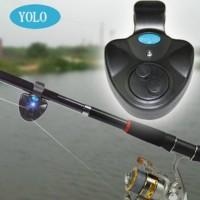 Alarm Bunyi pancing / mancing Strike Ikan LED YOLO