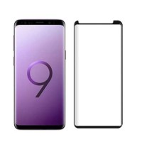 Tempered Glass Samsung S9 Plus / Full Body / Full Lem HP Lengkung