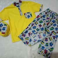 Sarkoci Anak Karakter size L/termurah-terlaris/baju muslim anak