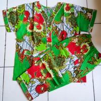 Piyama batik bagan/baju tidur batik setelan/piyama