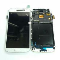 LCD SAMSUNG S4 I9500 / 9500 / LCD FULLSET TOUCHSCREEN FRAME