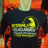 kaos t-shirt baju wanita  bidadari berhijab