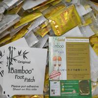 Harga koyo kaki bamboo gold footpatch original bkn nbos vbos harga per | antitipu.com