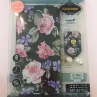 Softcase Flower + Iring Samsung Galaxy J7pro /J730