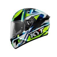 Helm Motor Full Face Fullface KYT NFR Casco Andrea Locatelli Murah