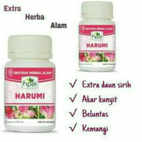 obat herbal keputihan dan kesehatan wanita sari rapet Harumi HPAI
