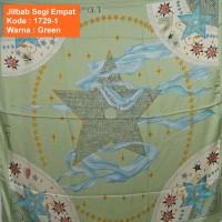 Jilbab Segi Empat 1729-1- Jilbab Instan - Chr1st1an D10r - Soie Silk -
