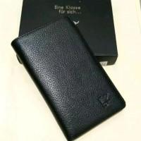 dompet pria asli kulit dompet braunbuffle tanggung