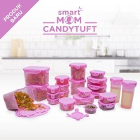Toples - Tempat Makan - Smart Mom Candytuft Set Of 23 - Tupperware