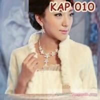 Jual Perhiasan Kalung Pengantin L Aksesoris Kalung Anting Wanita - Kap