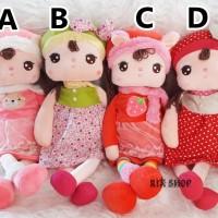 Boneka Import Little Girl Dress Warna Warni Size 47cm