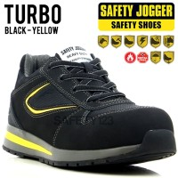 Jogger Turbo Sepatu Safety Shoes Metal Free Composite Heat Resist Sole