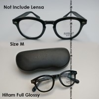 Kacamata Baca Frame Mos-Cot Medium Not Lemtosh Arthur Miltzen Black