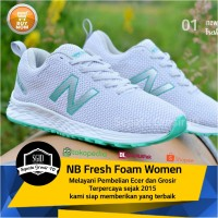 Sepatu Sneakers Sport NB Fresh Foam Lari Running Murah Cewek Wanita