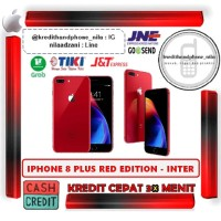 Iphone 8 Plus 64GB RED EDITION Inter - Cash dan Kredit Cepat Tanpa CC