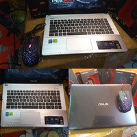 Laptop asus x450jf core i7 haswell HQ nvidia 840M