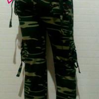 Celana senam army cotton super elastis M,L,XL,XXL