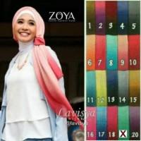 Promo... Zoya Kerudung Ombre Jilbab Segi Empat Gradasi
