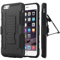 Hardcase Military Armor Clip Stand Cover Case Casing HP iPhone 4 4s