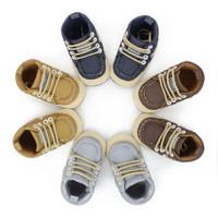Sepatu Prewalker Shoes Anak Bayi Laki-Laki Denim Tali
