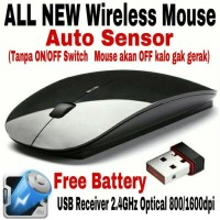WIRELESS mouse Apple 2 4Ghz for MacBook Laptop Notebook Mouse Weirel