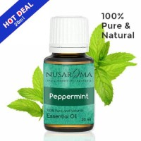 20ml - Peppermint Essential Oil (Minyak Pepermin) 100% pure
