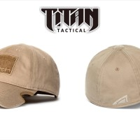 NOTCH CLASSIC FITTED HAT TAN OPERATOR