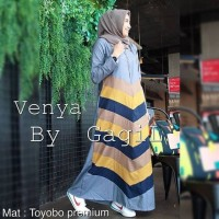 MURAH VENYA DRESS - BAJU MUSLIM - FASHION WANITA - PAKAIAN ONLINE -