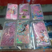 Case Vivo Y55 Water Glitter Motif Karakter Aquarium Cover Casing Hp