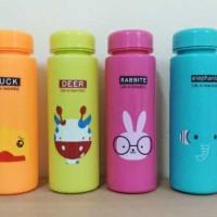 Botol minum animal karakter/my bottle/botol minum bahan plastik