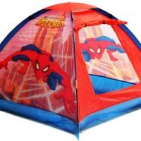 Tenda Anak Spiderman Free Packing Dus + Plastik