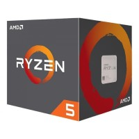 AMD Ryzen 5 Pinnacle Ridge 2600 3.4Ghz Up To 3.9Ghz Cache 16MB 65W AM4