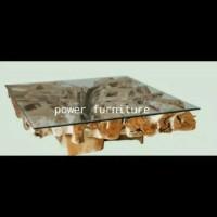 meja akar jati (sofa kursi tamu lemari bufet meja makan)