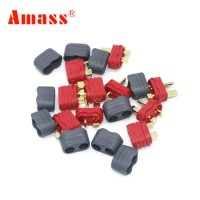 T Plug Deans Connector Amass Per Pasang (Male + Female)