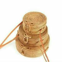Jual tas ketak (rotan) lombok 18cm Murah