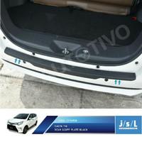 Harga toyota calya sillplate belakang hitam rear scuff plate | antitipu.com