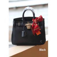 Tas Branded Handbag Wanita Hermes Selempang Cewek Import Black