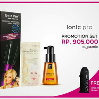 Promotion set Ionic Pro+hair care