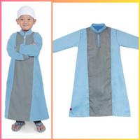 fashion muslim anak cowo baju koko kemeja hem gamis idul fitri jubah