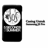 Case Samsung J2 Pro 5 Second Of Summer Log Custom Hard Casing
