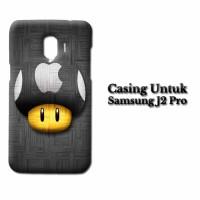 Case Samsung J2 Pro Apple Logo LG Custom Hard Casing