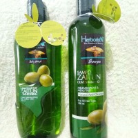 Herboris Body Wash dan Shampo Zaitun