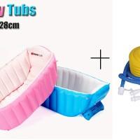 Intime Baby Bath Tub/ Bak Mandi Bayi + BONUS POMPA