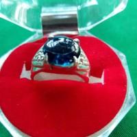 Super Laris Cincin batu BLUE OBSIDIAN model cewek 01 by MB