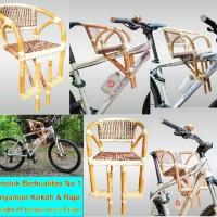 Kursi Boncengan Sepeda Anak depan MTB, Polygon, Gunung Murah Rotan
